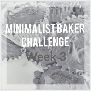 Week 3 Minimalist Baker Challenge – Recipes, Grocery List and Meal Plan