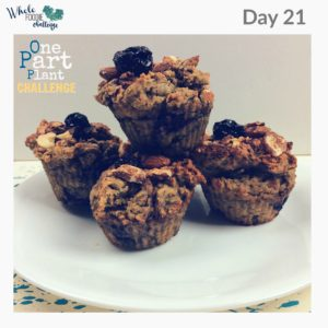 Review of the One Part Plant Almond Cherry Muffins